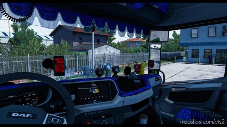 Interior Addons NEW DAF XG And XG+ [1.41.X] for Euro Truck Simulator 2