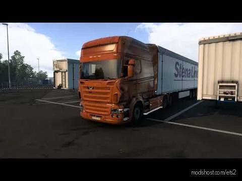 Scania V8 Sound With Mouth [1.40 – 1.41] for Euro Truck Simulator 2