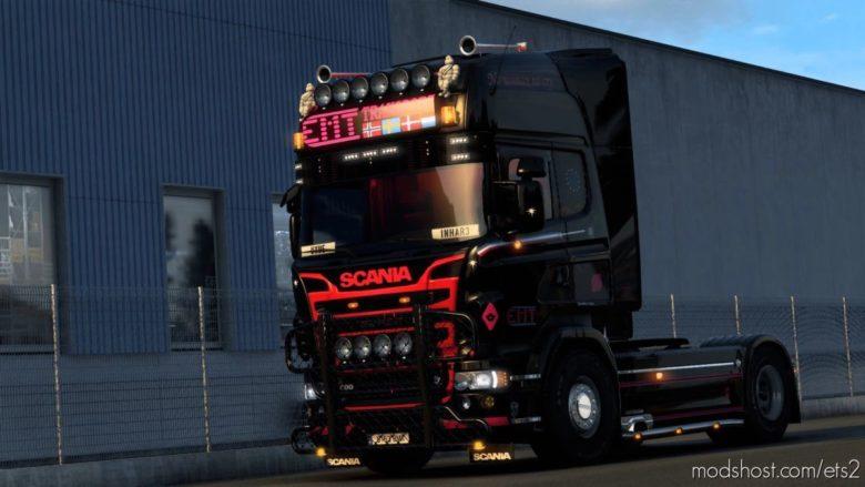 EMT Markus Scania RJL Skin for Euro Truck Simulator 2