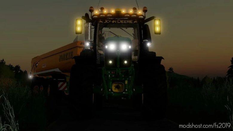 John Deere 6R LE JOT SAM Agripassion for Farming Simulator 19