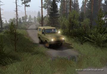 """UAZ-3907 """"Jaguar"""" Mod for MudRunner"""