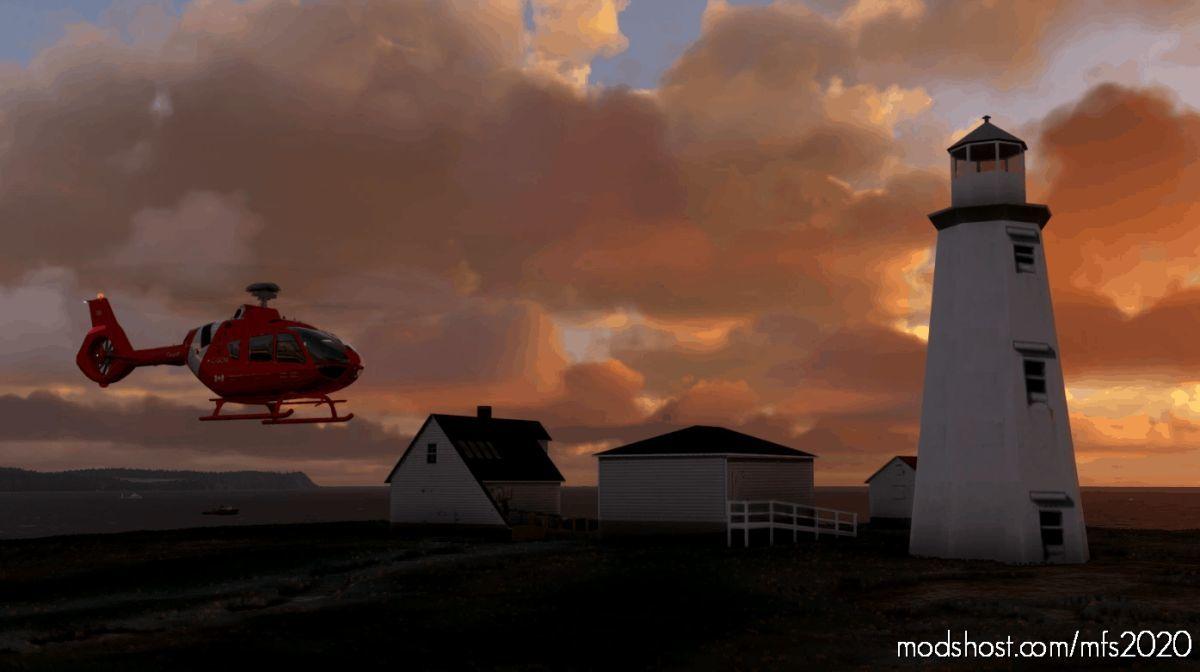 Cape Spear Newfoundland And Labrador Scenery for Microsoft Flight Simulator 2020