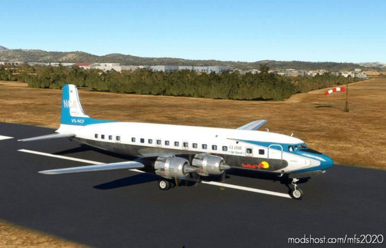 Flying Bulls DC-6B V5-Ncf 2000 for Microsoft Flight Simulator 2020