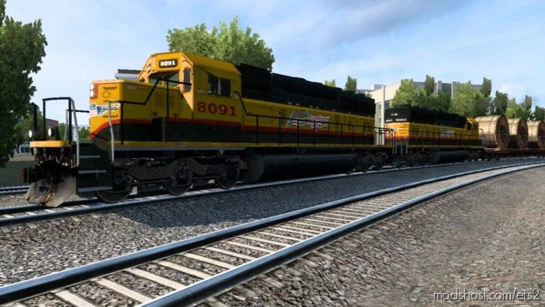American Improved Trains 3.8 Beta 2 [1.41.X] for Euro Truck Simulator 2