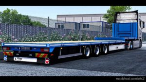 Fliegl Flatbed Trailer [1.41.X] for Euro Truck Simulator 2