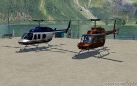 Bell206L for Farming Simulator 19