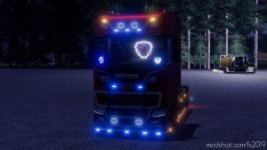 Prefab Scania Illuminated Deco for Farming Simulator 19