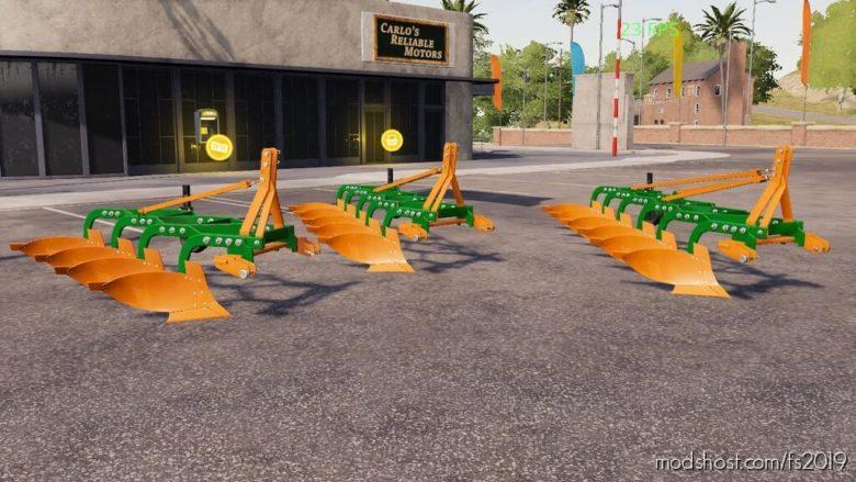 DOG Plow for Farming Simulator 19