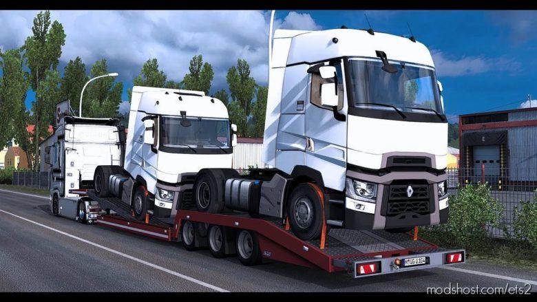 Estepe Trailer CAR Transporter [1.41.X] for Euro Truck Simulator 2