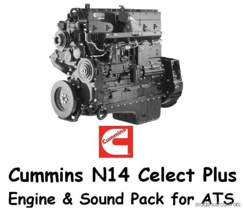 Cummins N 14 Celect Plus V1.2 for American Truck Simulator