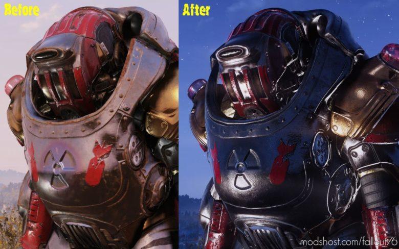 Darker Atomic Ranger Retexture (4K) for Fallout 76