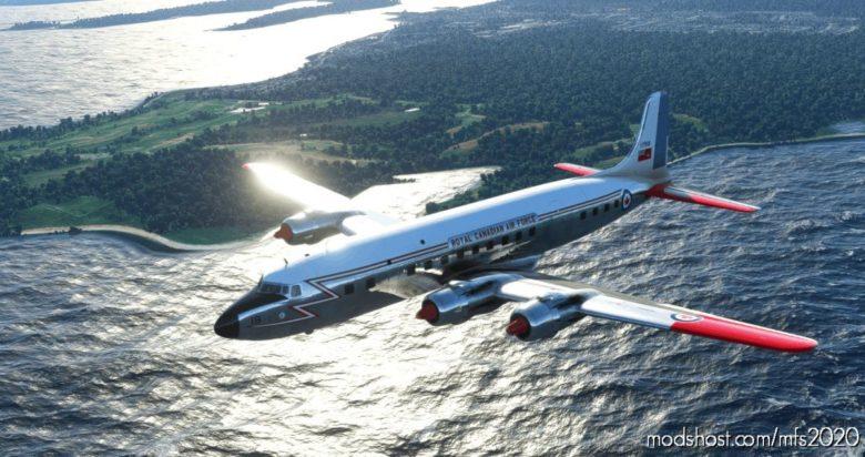 Pmdg DC-6B – Royal Canadian AIR Force (Rcaf) (1960S) for Microsoft Flight Simulator 2020