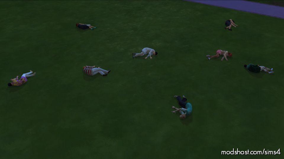 Insta Kill Mod for The Sims 4