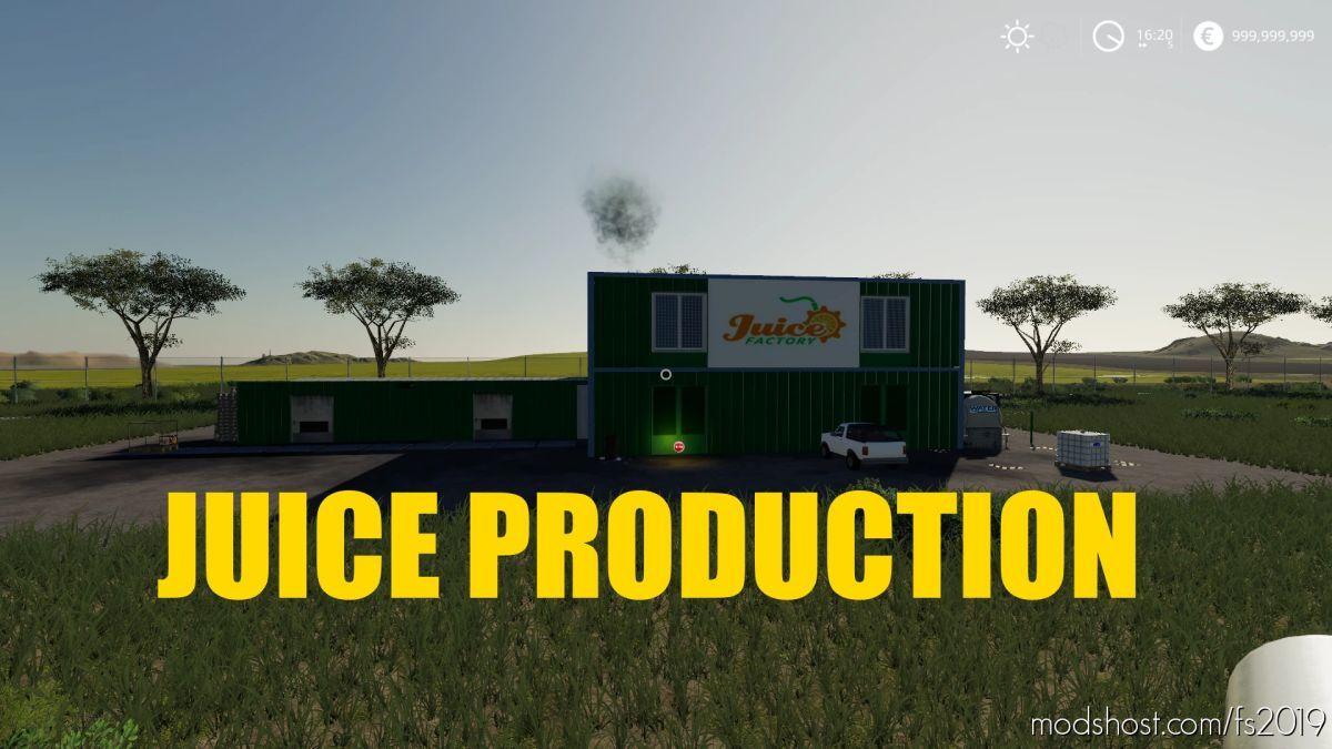 Juice Factory V1.1 for Farming Simulator 19