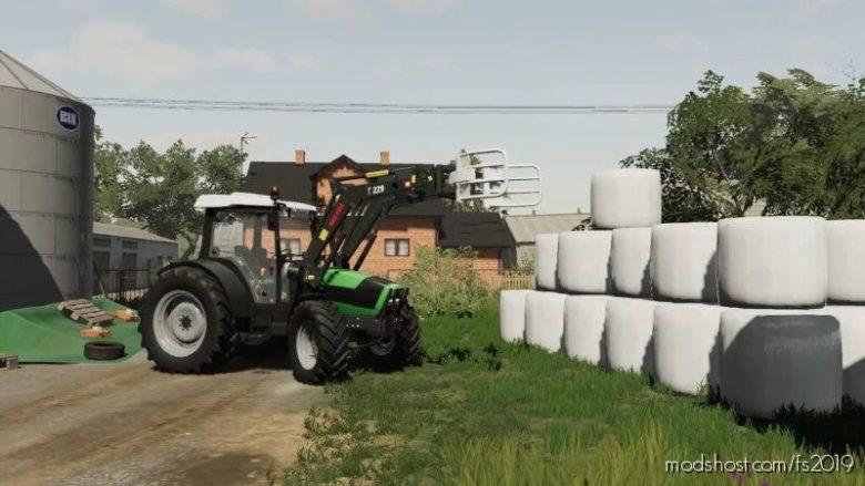 Deutz Fahr Agrofarm for Farming Simulator 19