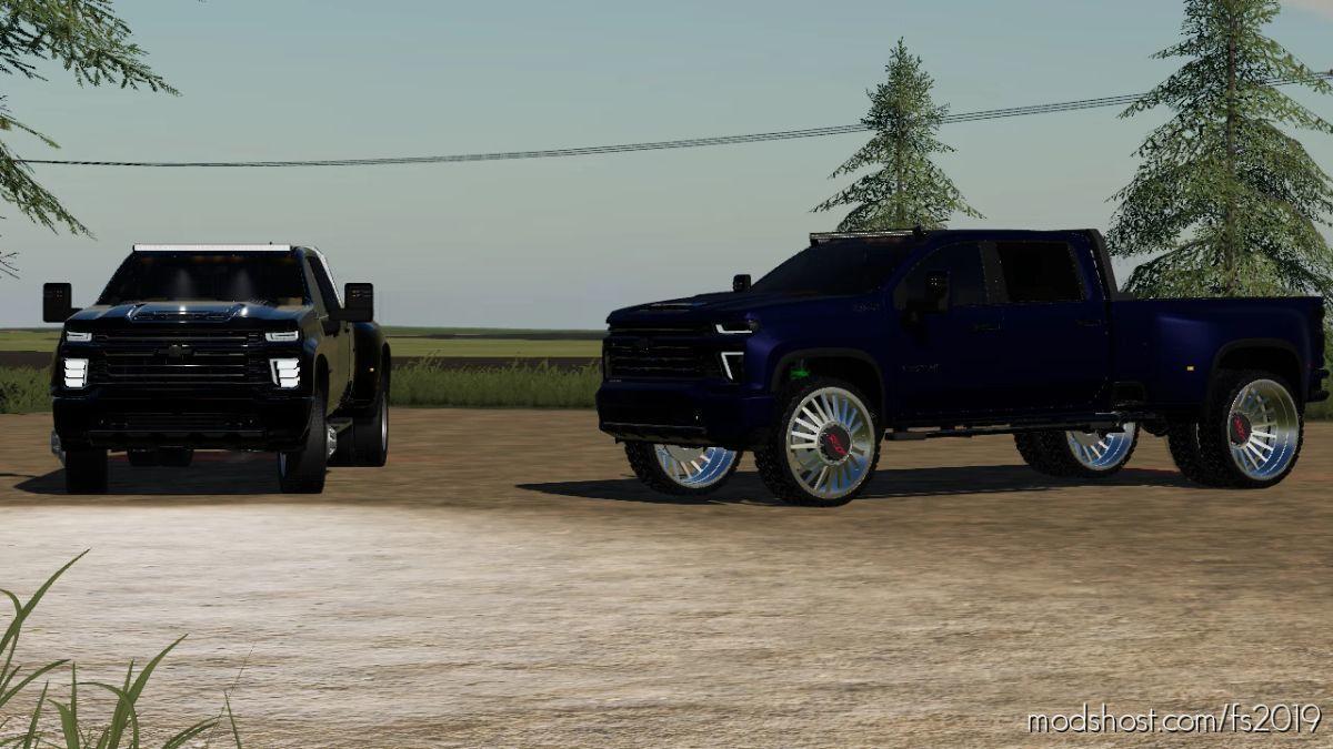 Knucklehead Motorsports 2020 Chevy Silverado 3500 for Farming Simulator 19