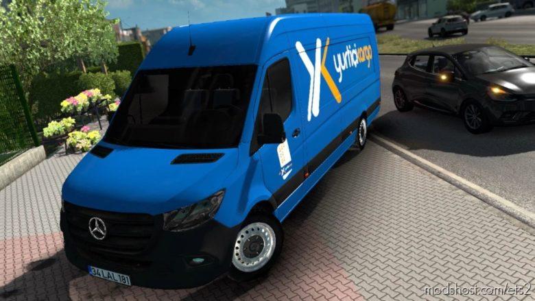 Mercedes-Benz Sprinter 2021 V1R70 [1.41.X] for Euro Truck Simulator 2