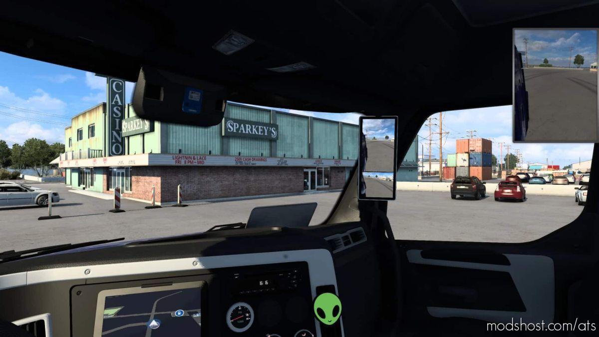 Mirror Camera Mod for American Truck Simulator