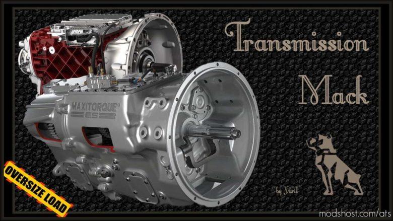 Transmission Mack for American Truck Simulator