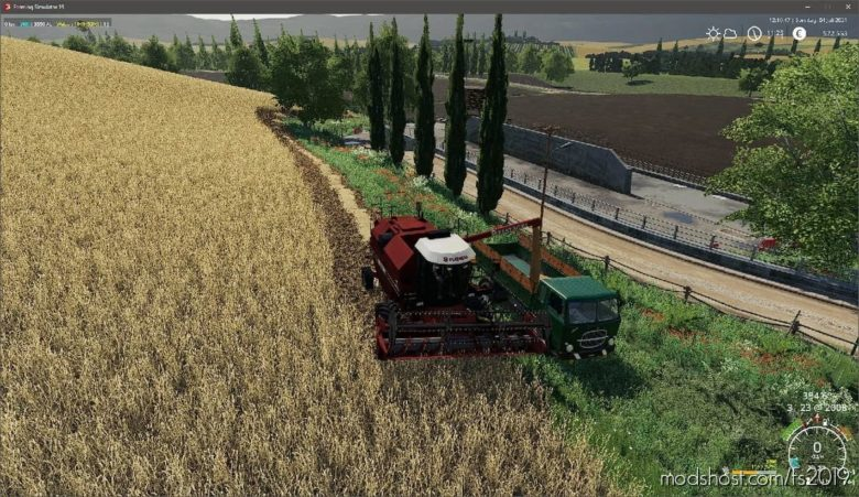 Fiatagri 3550 AL Pack V1.1 for Farming Simulator 19