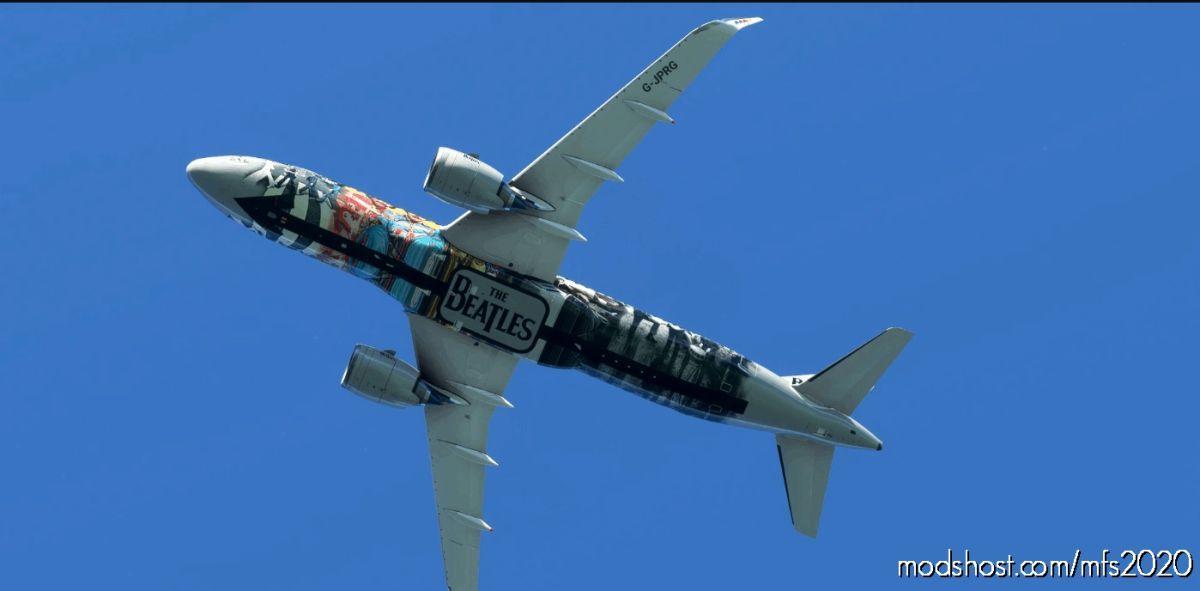 The Beatles A320Neo 8K for Microsoft Flight Simulator 2020
