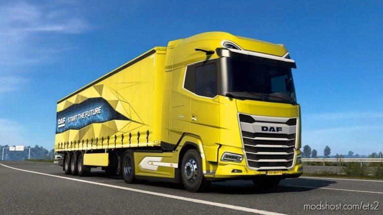 DAF 2021 Xg/Xg+ [1.36] for Euro Truck Simulator 2