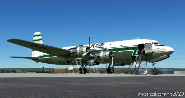 Pmdg DC-6B – Real Aerovias for Microsoft Flight Simulator 2020