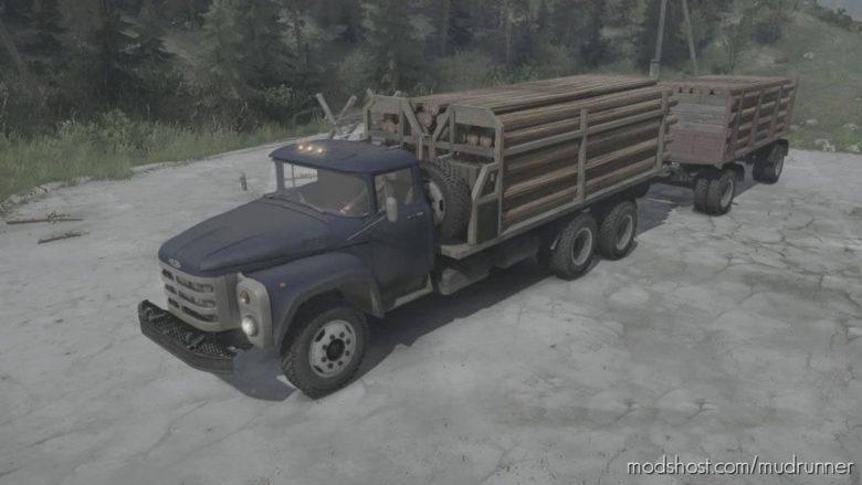 Zil-133Gya Truck V02.07.21 for MudRunner