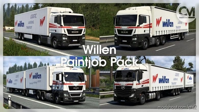Spedition Willen Skinpack [1.40] for Euro Truck Simulator 2