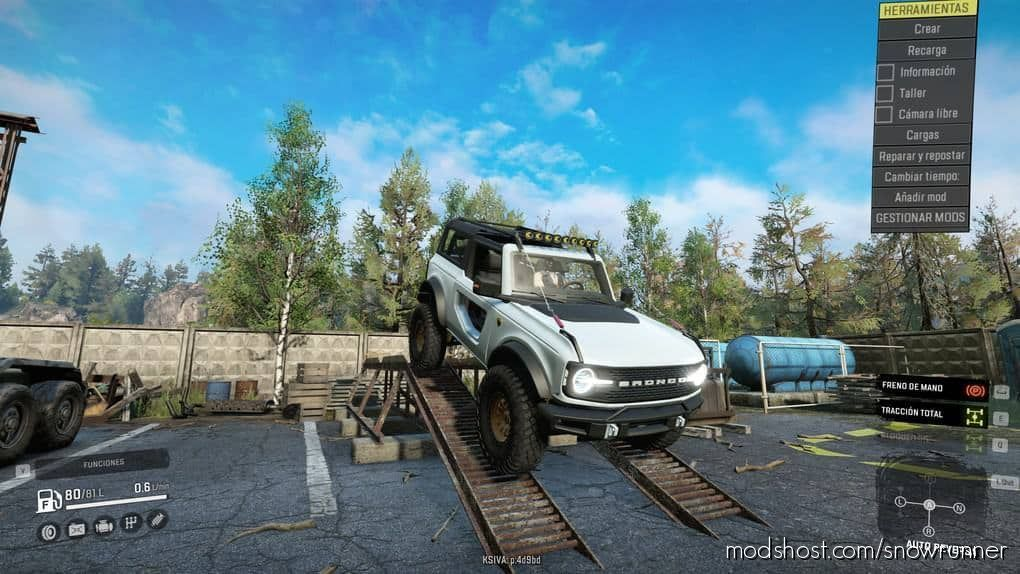 Ford Bronco 2021 Badlands V1.1 for SnowRunner