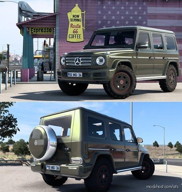 Mercedes-Benz W463 2019 G500 V2 [1.41] for American Truck Simulator