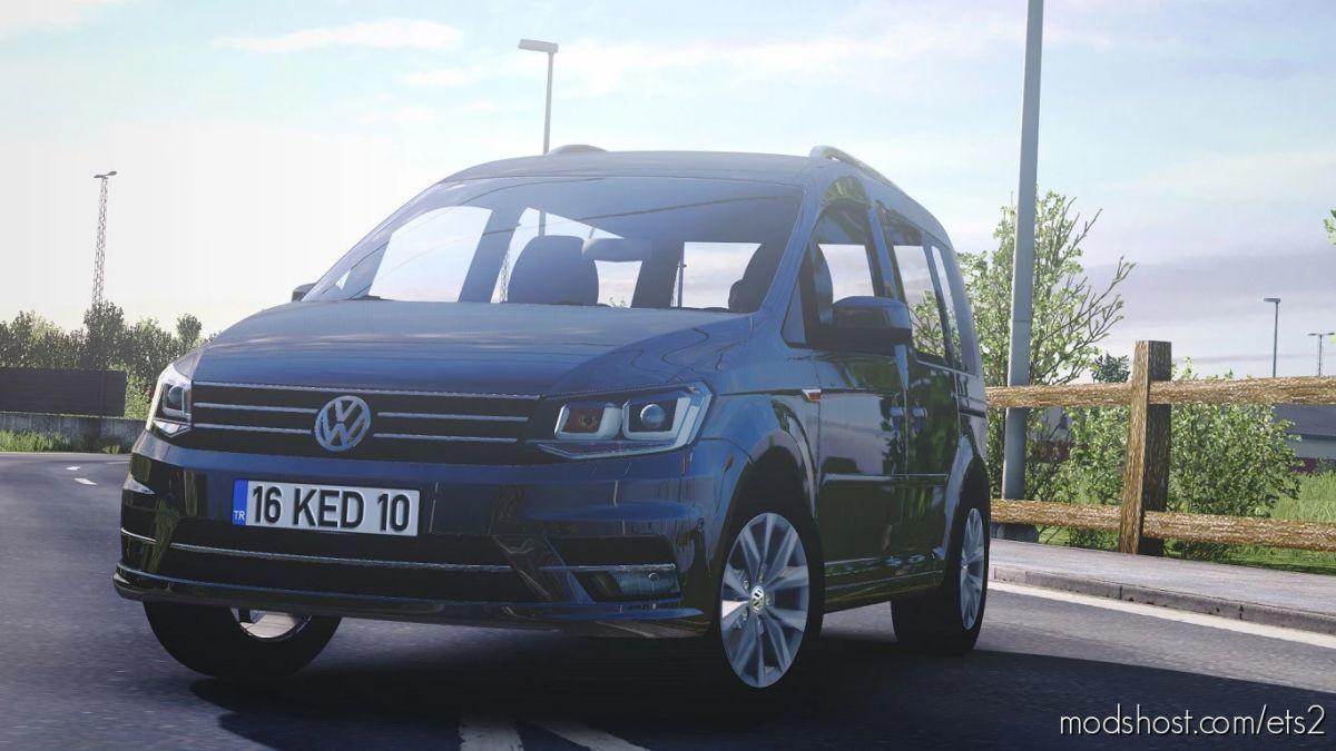 Volkswagen Caddy V1R70 [1.41.X] for Euro Truck Simulator 2