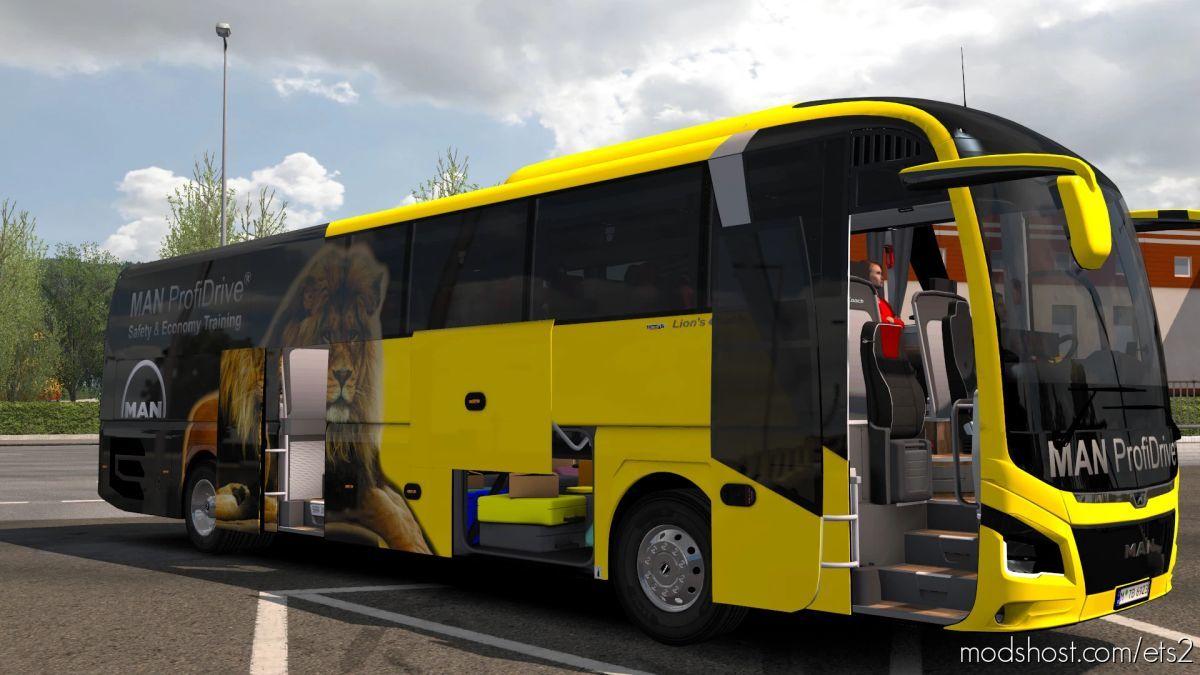 MAN Lion's Coach Optiwiev [1.41.X] for Euro Truck Simulator 2