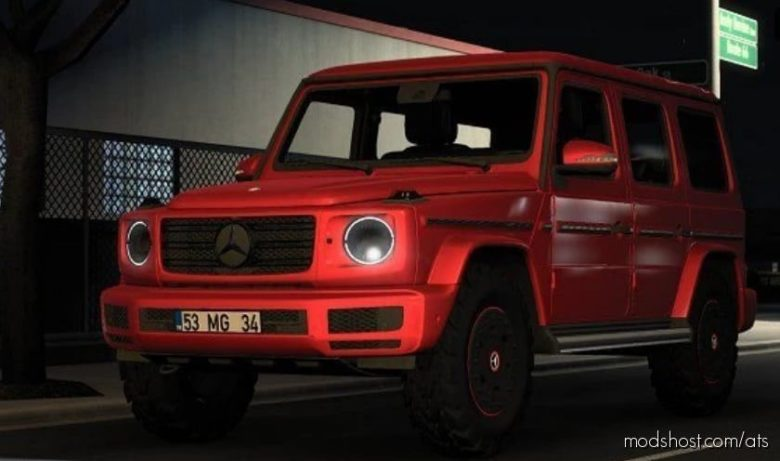 Mercedes-Benz W463 2019 G500 V2.0 [1.41] for American Truck Simulator