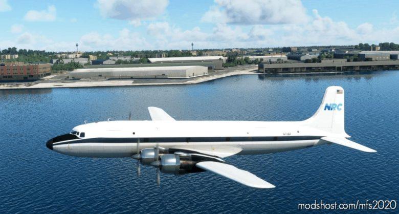 Florida AIR Transport DC-6A N70BF | 2021 for Microsoft Flight Simulator 2020