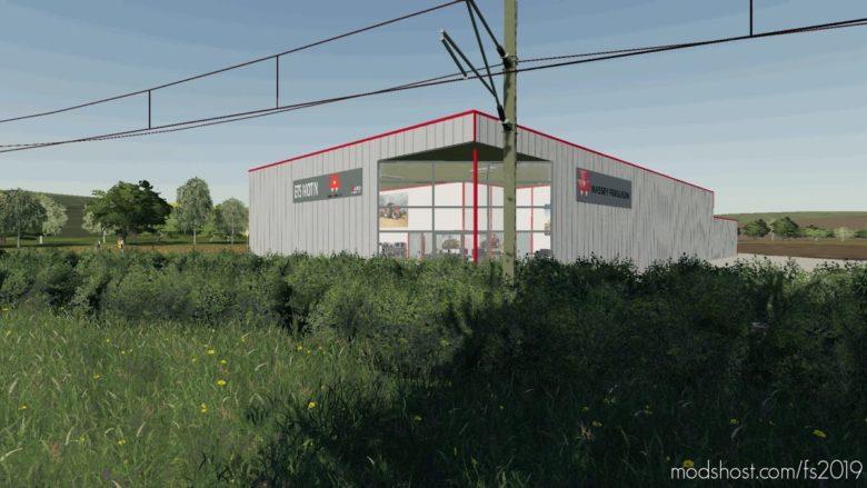 Concessionnaire Massey Ferguson Motin for Farming Simulator 19