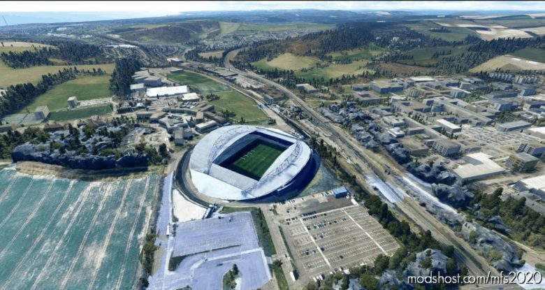 Amex Stadium for Microsoft Flight Simulator 2020