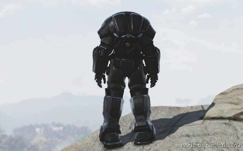 Dark Hellcat PA Retexture (4K) for Fallout 76