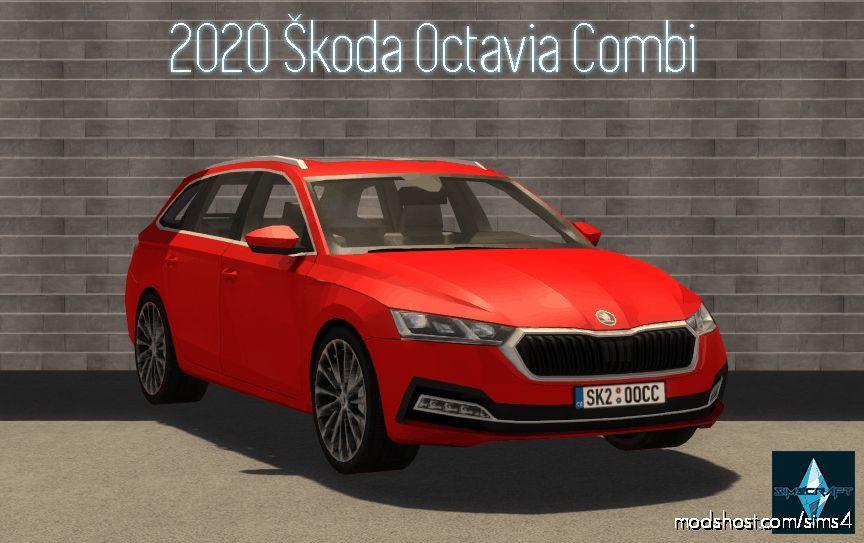 2020 Škoda Octavia Combi for The Sims 4