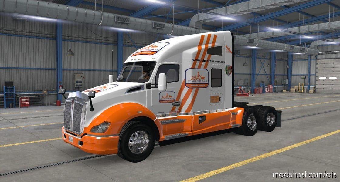 Skin Chedraui Company for American Truck Simulator