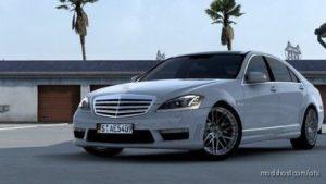 Mercedes-Benz W221 S65 AMG 2012 V3.1 [1.41] for American Truck Simulator