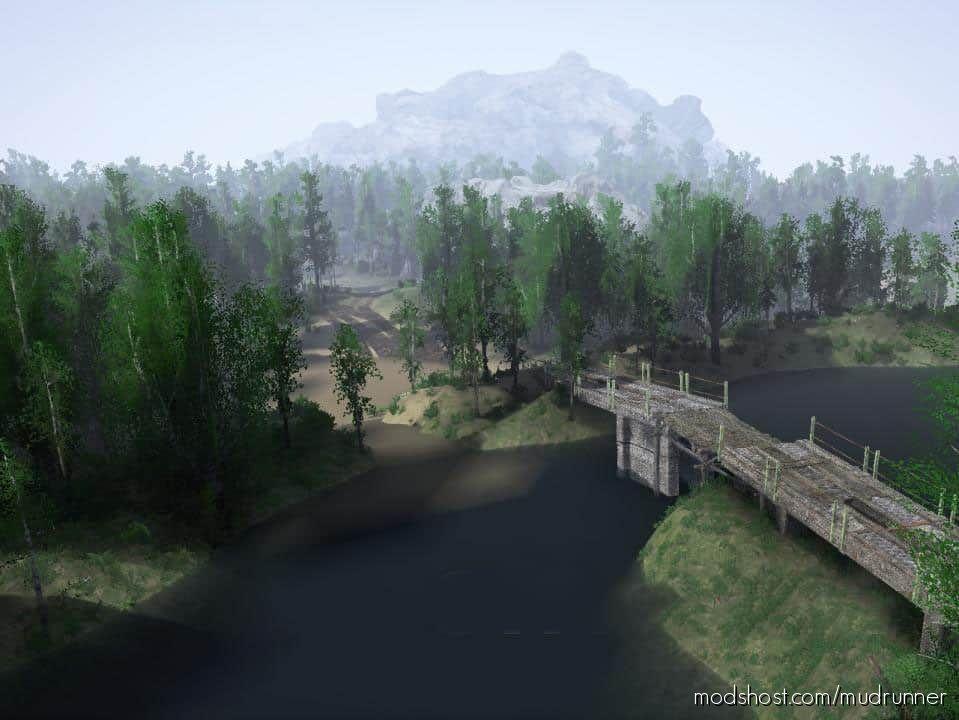 Brigade UX 2 Map for MudRunner