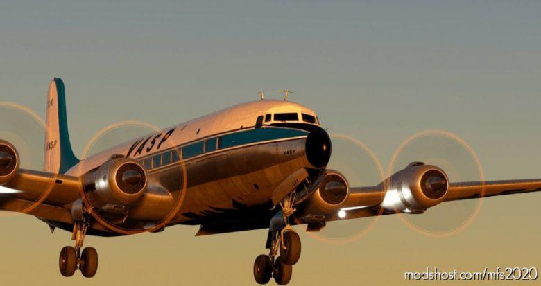 Pmdg DC-6B & DC-6A – Vasp V2.0 for Microsoft Flight Simulator 2020