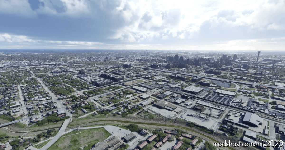SAN Antonio TX for Microsoft Flight Simulator 2020