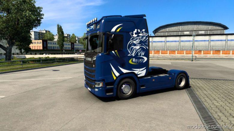 Reuss Griffin Skin for Euro Truck Simulator 2
