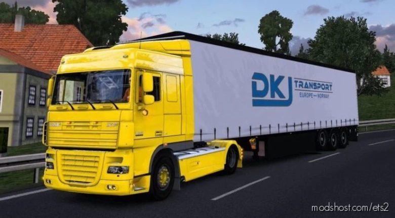 DAF XF 105 – Fixed – [1.41.X] for Euro Truck Simulator 2