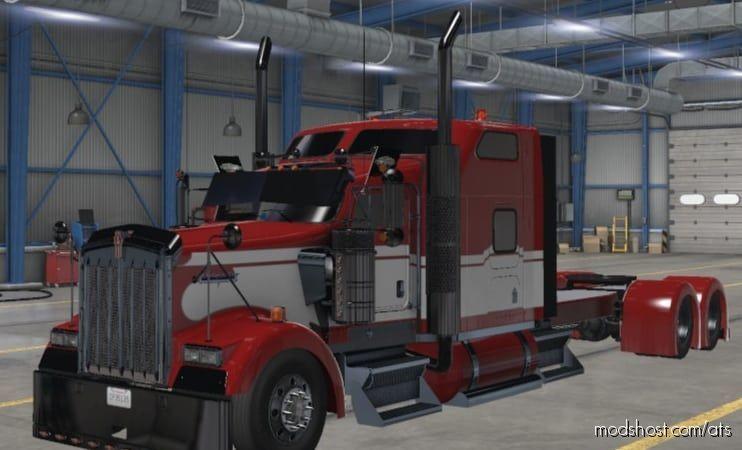 Kenworth W900 Cabin CUT [1.41] for American Truck Simulator