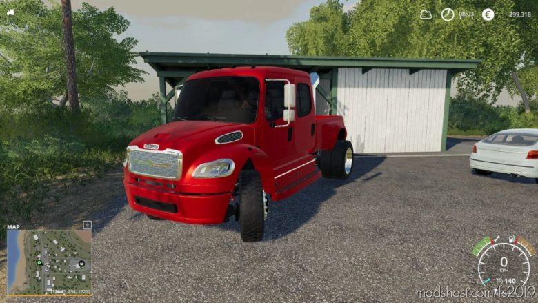 Freightliner M2 Custom for Farming Simulator 19