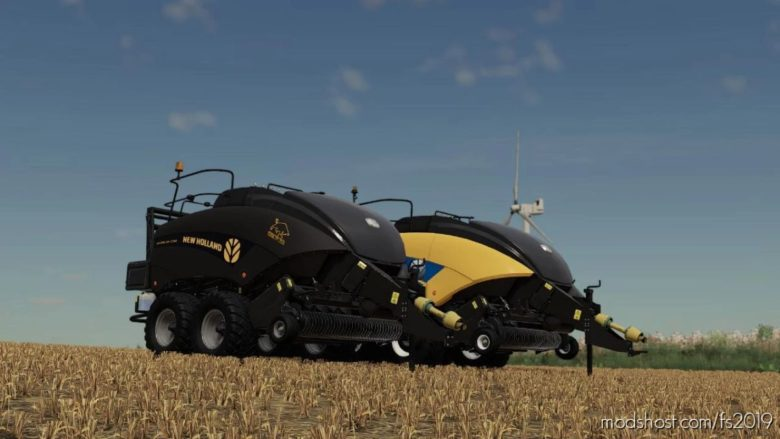 NEW Holland BB1290 YB for Farming Simulator 19