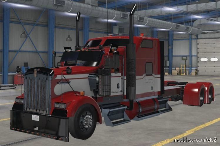 Kenworth W900 Cabin CUT [1.41.X] for Euro Truck Simulator 2